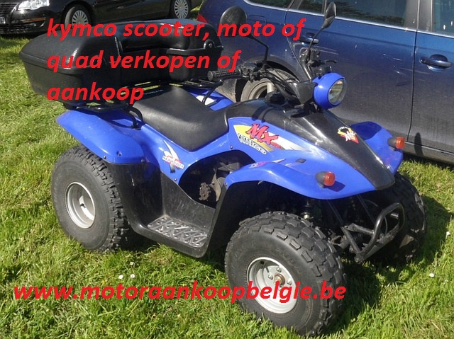 kymco scooter, moto of quad verkopen of aankoop